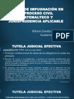 Jurisprudencia Actual Medios de Impugnación Materia Civil