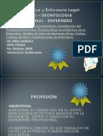 Deontologia Profesional Enfermero.ppt