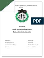 Arbitration Project.docx