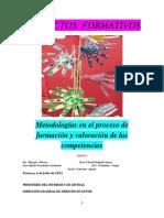 Libro Metodología en El Proceso de Formación y Valoración de Las Competencias.