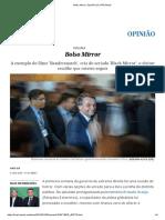 Bolso Mirror _ Opinião _ EL PAÍS Brasil