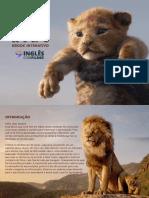 The Lion King eBook Interativo Por Academia Ingles Com Filmes