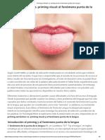 Priming Semántico vs. Priming Visual_ El Fenómeno Punta de La Lengua