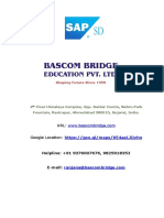 SAP SD Course Content from Bascom Computer M 9376007676.docx