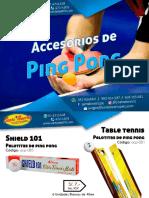 accesorios de ping pong
