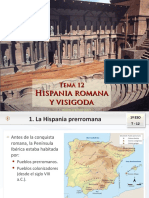 1. B Hispania Romana y Visigoda