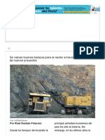 Minería peruana en los ojos del mundo