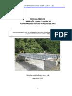 1 - Manual Tecnico de Operacion y Mantenimiento