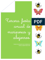 Proyecto Fiesta de Mariposas y Abejorros 2019