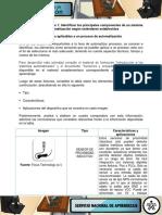 Actividad 1 Evidencia Cuadro Comparativo Identificar Los Elementos Aplicables a Un Proceso de Automatizacion