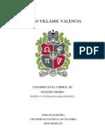 COLOMBIA EN EL UMBRAL DE NUESTRO TIEMPO POLÍTICA  Y  CULTURA  EN  LA  ERA  POPULISTA
