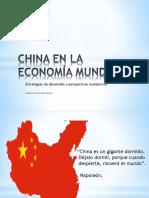 china en la economia mundial
