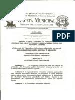 31gaceta 3016-2 Ordenanza Impuesto Sobre Inmueble Urbano