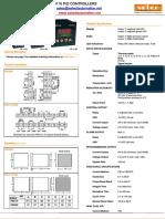 PID110 Temprature Controllers