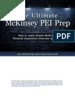 McKinsey PEI Toolkit Sample Chapters