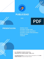 Presentación Deportes Ávila 2.0