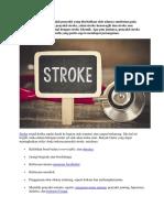 Stroke Non Hemoragik Adalah Penyakit Yang Disebabkan Oleh Adanya Sumbatan Pada Aliran Darah Di Otak