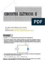 Aula 4 Circuitos Elétricos II - Componentes da potência instantânea