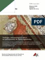 Revista Ética e Filosofia Politica - Santo Agostinho