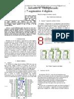 arduino nano display 7 segmentos cuatro digitos
