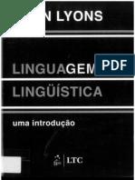 Linguagem e Linguistica - John Lyons
