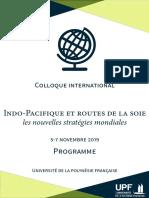 Programme Colloque UPF 5-7 Novembre