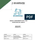 Manual Ditg-Vuc Para Presentar Proyecto Acueducto de Bogota Para Su Aprobacion
