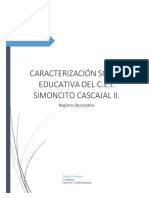 Caracterizacion Del CEIS Cascajal II