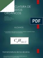 Nomenclatura de Compuestos Orgánicos