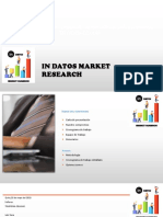Propuesta de Investigación in Datos Market Research