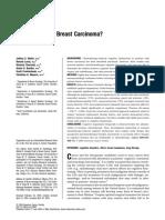 Chemobrain Study Breast Carcinoma