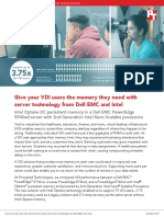 Give your VDI users the memory they need with server technology from Dell EMC and Intel