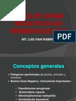 Bacilos Gram Negativos No-fermentadores