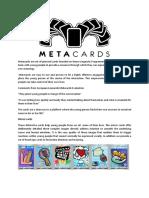 Metacards