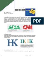 Strategies for Letter-based Logo Design