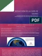 la cap de ozono presentación