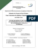 Assainissement + AEP + Voiries (bousshaba)
