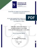 2017 Vargas Plan de Marketing La Positiva Vida