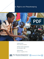 Human Rights and Peacekeeping