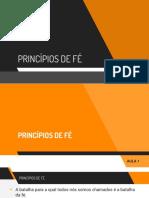 7. Princípios de Fé