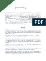 Modelo Demanda Suspension Patria Potestad 09