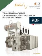 Catalogo Transformadores de Potencia Epli -Perú