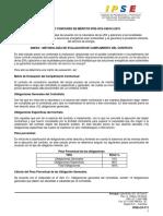 Aviso Convocatoria Pública Ipse Scs Cm 012 2019