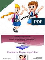 Sx Hepatoesplenico. Pediatría II.