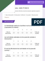 Evaluación docente - IAEE 4º ESO D