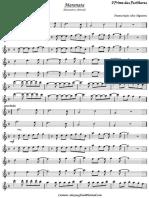 partitura maranata trompete