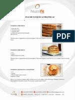 Receitas de Panquecas Proteicas