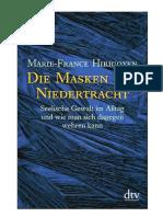 Die Masken der Niedertracht. Seelische Gewalt im Alltag und wie man sich dagegen wehren kann ( PDFDrive.com ).pdf