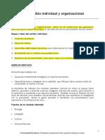 02. Apunte – Cambio Individual y Organizacional