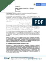 Respuesta reclamo Ecdf 2019